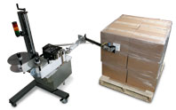 5300 dual-label pallet printer-applicator