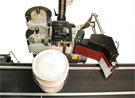 Model 5300 drum and pail label printer-applicator