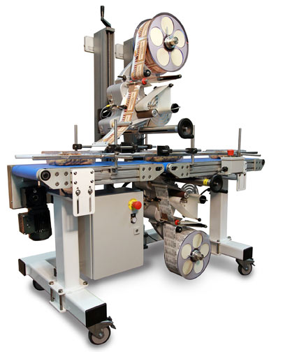 Alpha Compact Top & Bottom Labeling System