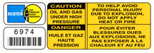 Bilstien Shock Absorber label