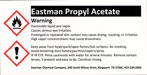 Eastman chemical label