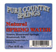 Pure country water label