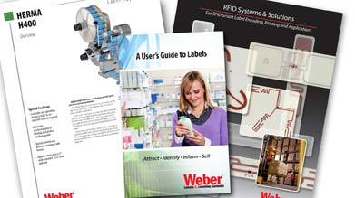 Weber's brochure library of labeling systems