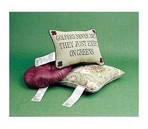Decorite pillow labeling system