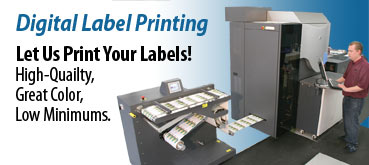 Weber prints digital labels