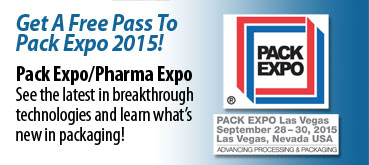 Free Pack Expo 2015 Pass
