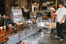 Howard Products labeling line 2