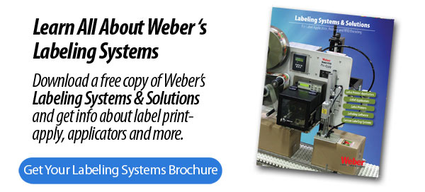 Weber labeling Systems brochure
