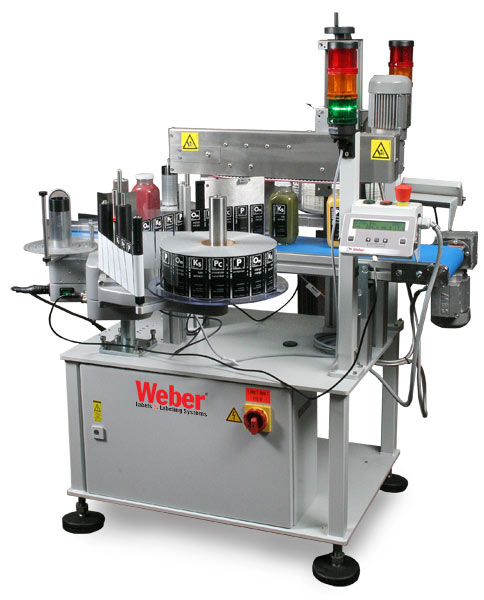 Weber 114 two-sided labeling system