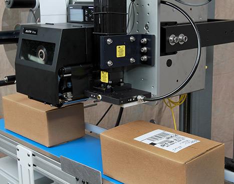 5300 Tamp-Blow Label Printer Applicator