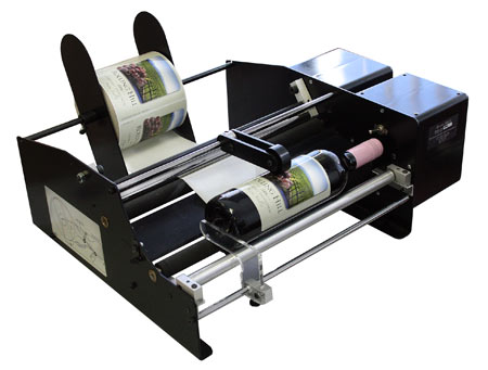 Bottle-Matic economical label Applicator