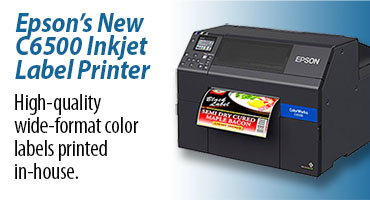 Epson C6500A color label printer