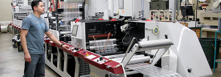 Weber Packaging Solutions prints high-quality custom labels