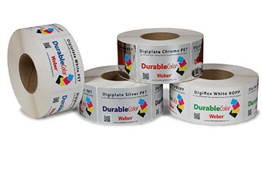 durable industrial labels from Weber