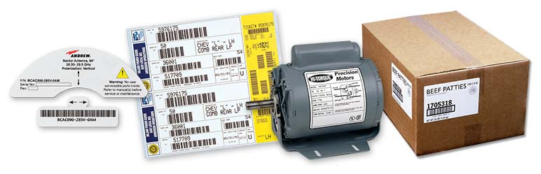 Weber Packaging Solutions makes high-quality custom general manufacturing labels.